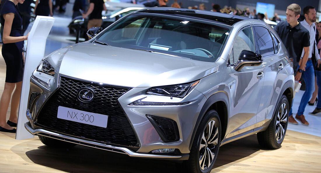 Lexus NX Facelift 2017
