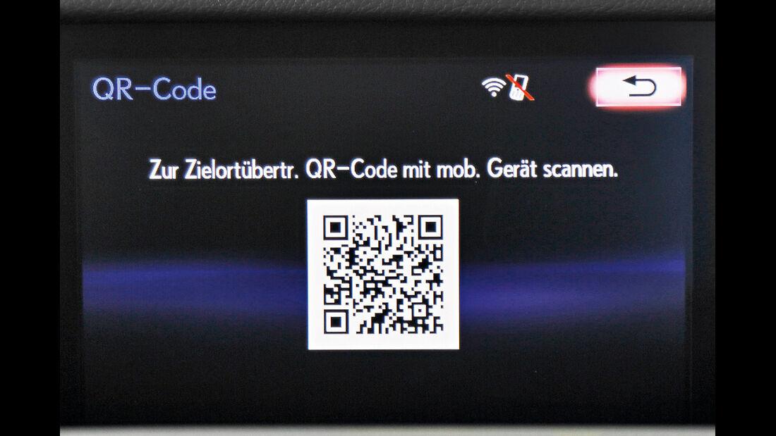 Lexus, QR-Code
