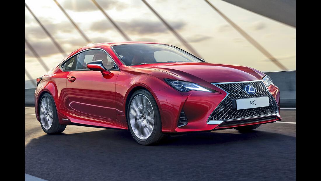 Lexus RC, Best Cars 2020, Kategorie G Sportwagen