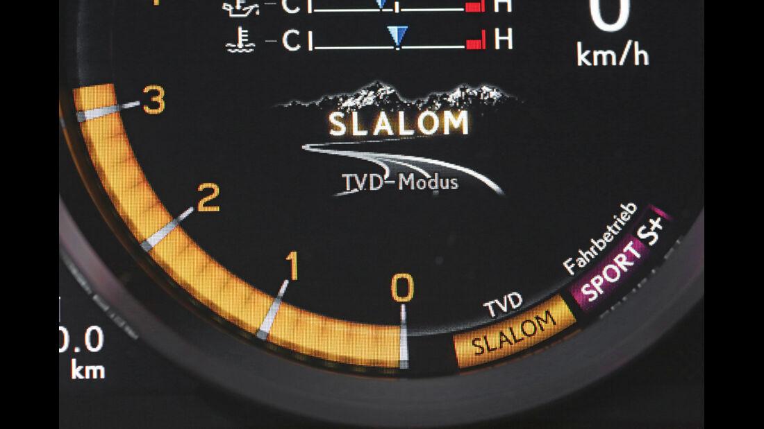 Lexus RC F Advantage, Anzeige, Display
