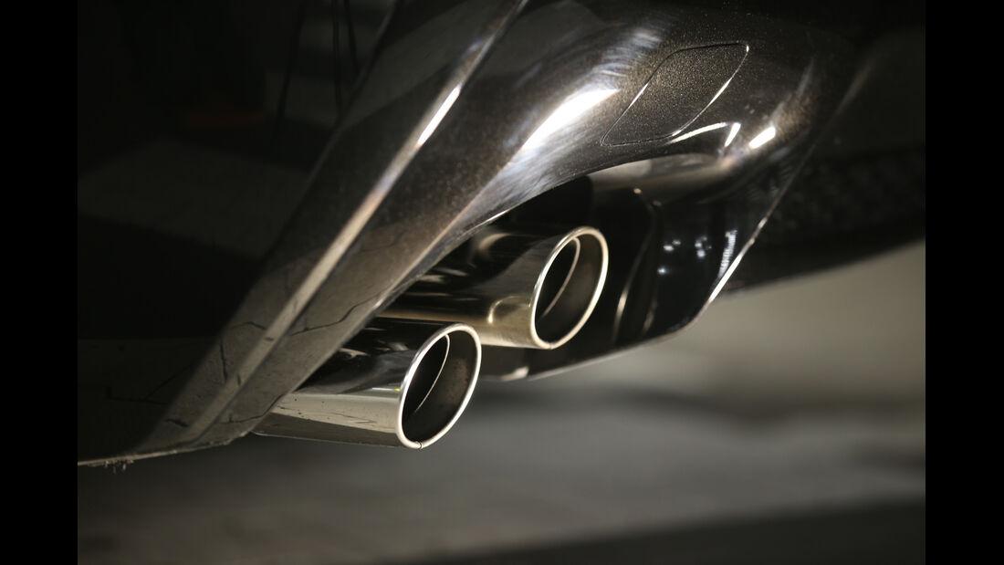 Lexus RC F Advantage, Endrohre, Auspuff