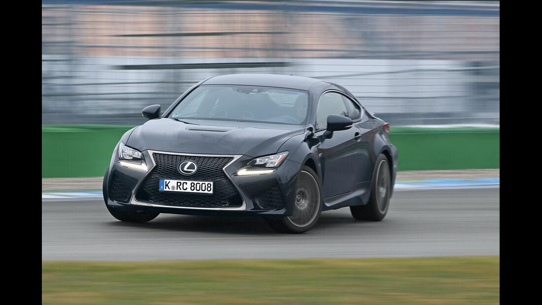 Lexus RC F Advantage, Frontansicht, Driften