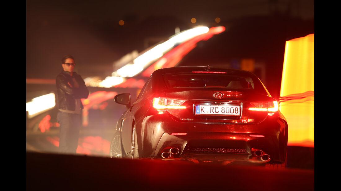 Lexus RC F Advantage, Heckansicht