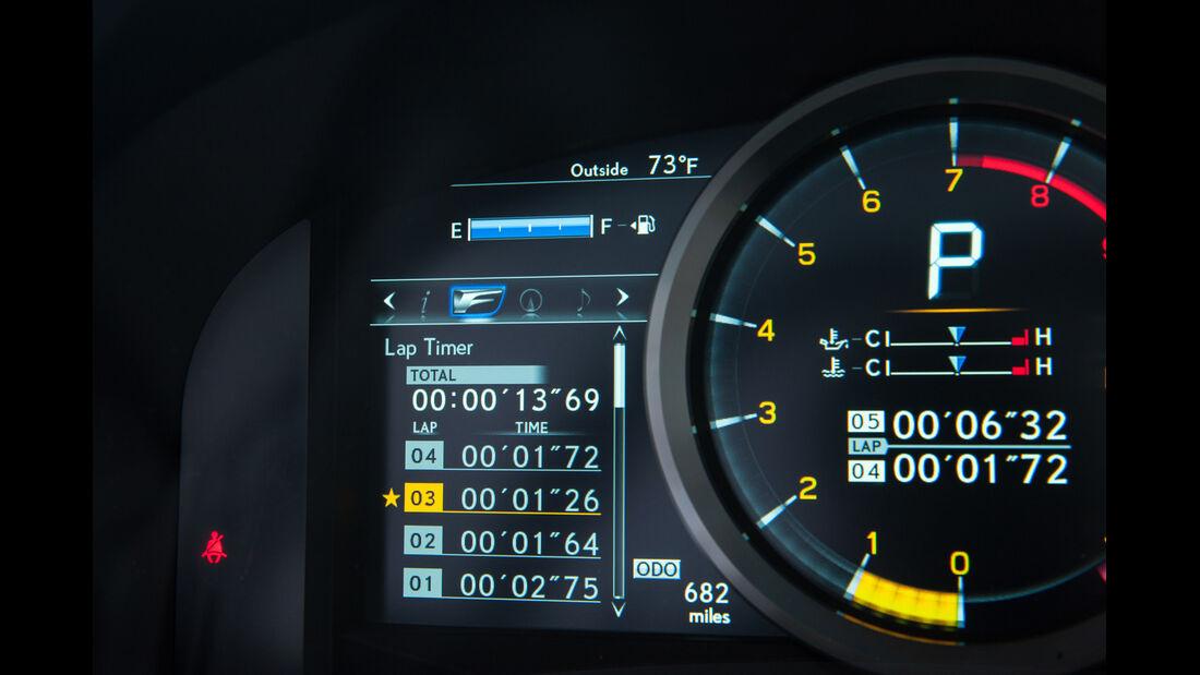 Lexus RC F, Bordcomputer, Infotainment