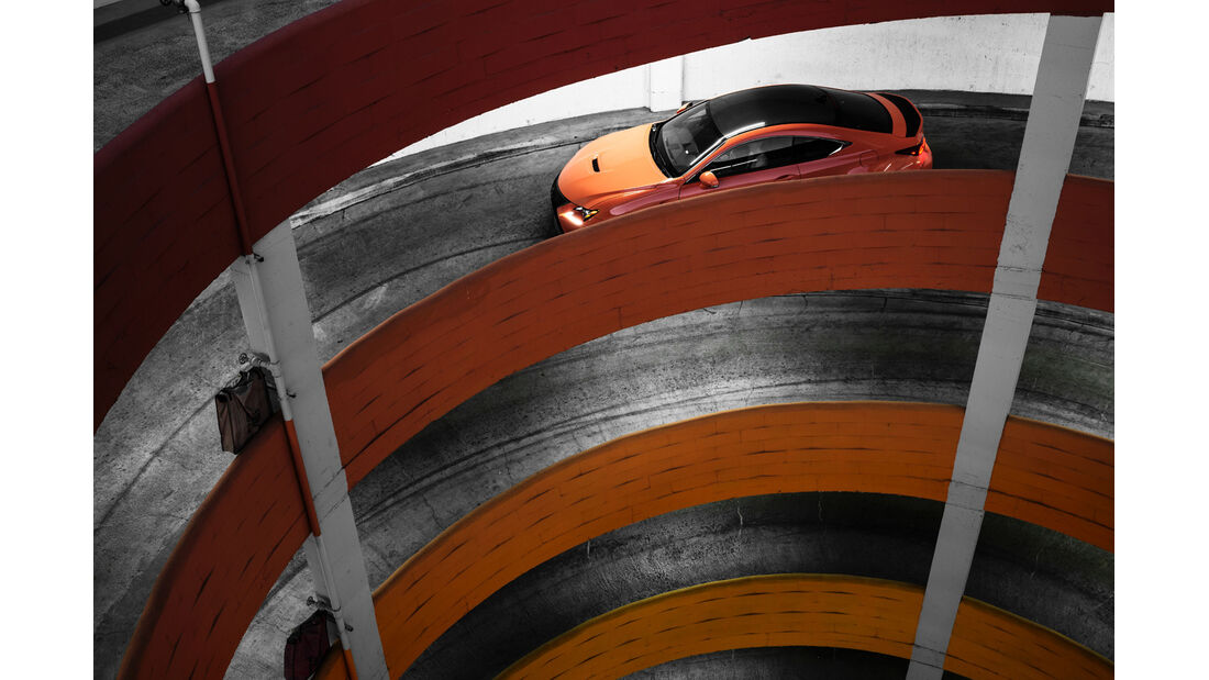 Lexus RC F, Draufsicht