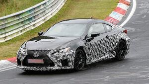 Lexus RC F Facelift Erlkönig