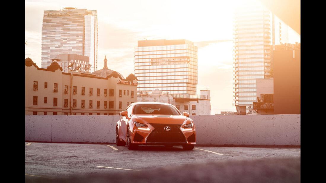 Lexus RC F, Frontansicht