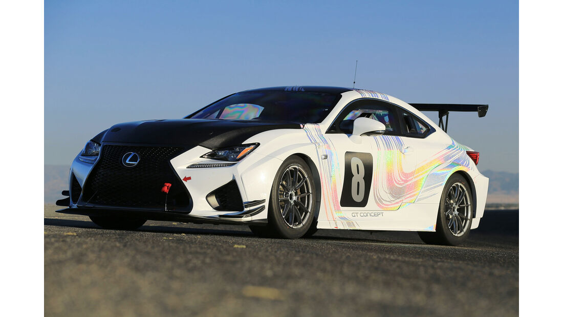 Lexus RC-F GT Pikes Peak