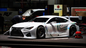 Lexus RC F GT3, Genfer Autosalon, Messe 2014