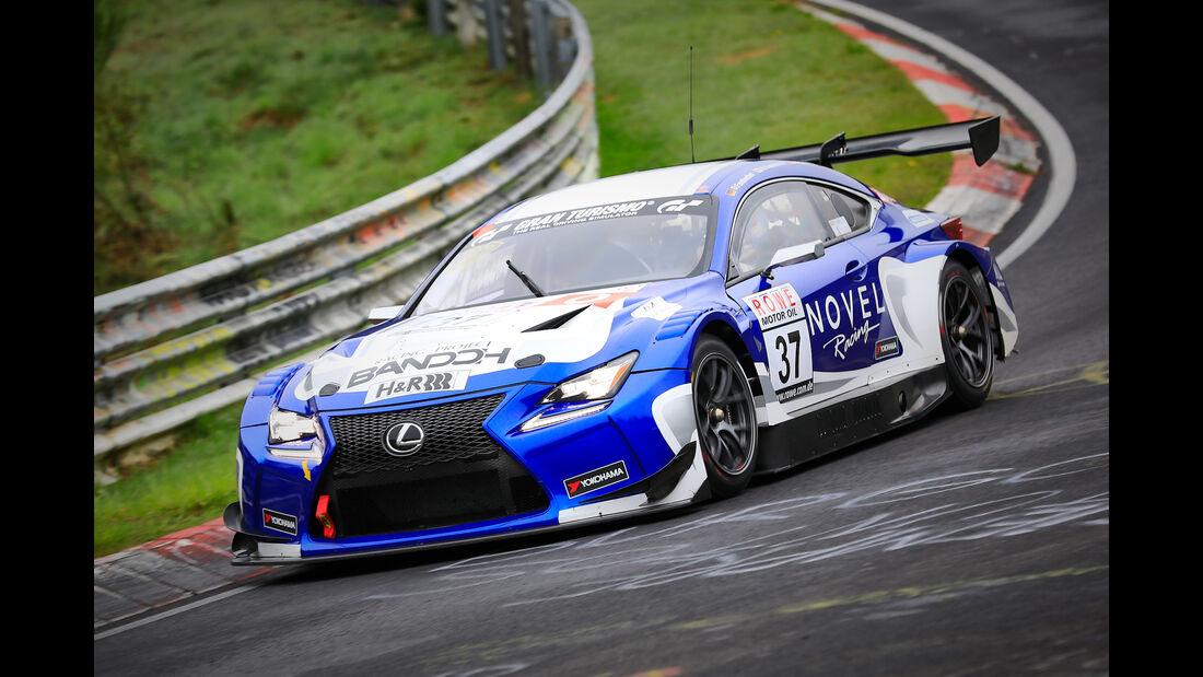 Lexus RC F GT3 - Startnummer #37 - Bandoh Racing with Novel Racing - SP9 Pro - VLN 2019 - Langstreckenmeisterschaft - Nürburgring - Nordschleife
