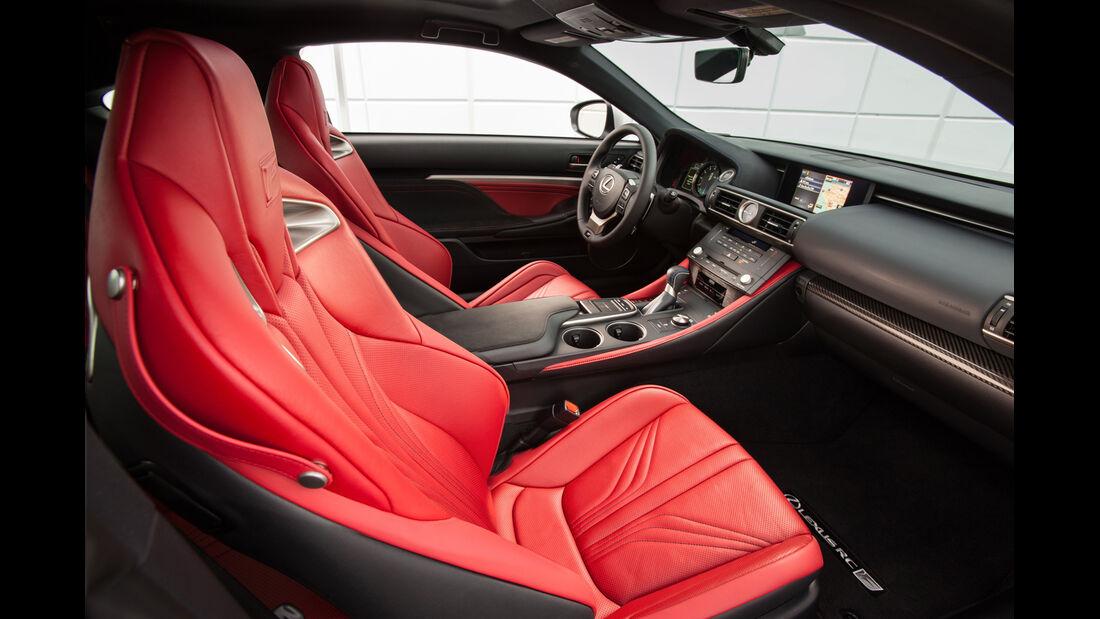 Lexus RC F, Interieur, Cockpit