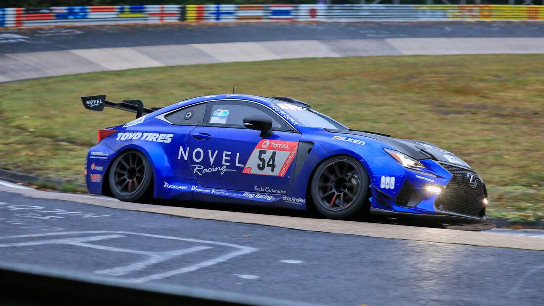 Lexus RC-F - Novel Racing with Toyo Tire by Ring Racing - Startnummer #54 - Klasse: SP8 - 24h-Rennen - Nürburgring - Nordschleife - 24. bis 27. September 2020