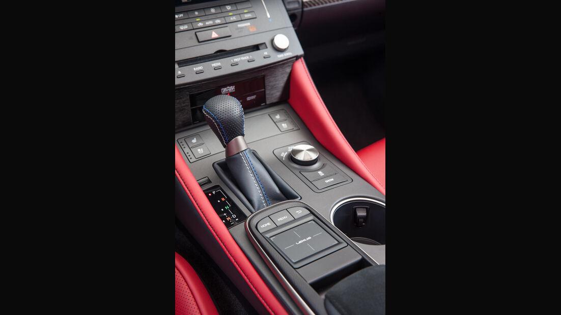 Lexus RC F, Schalthebel