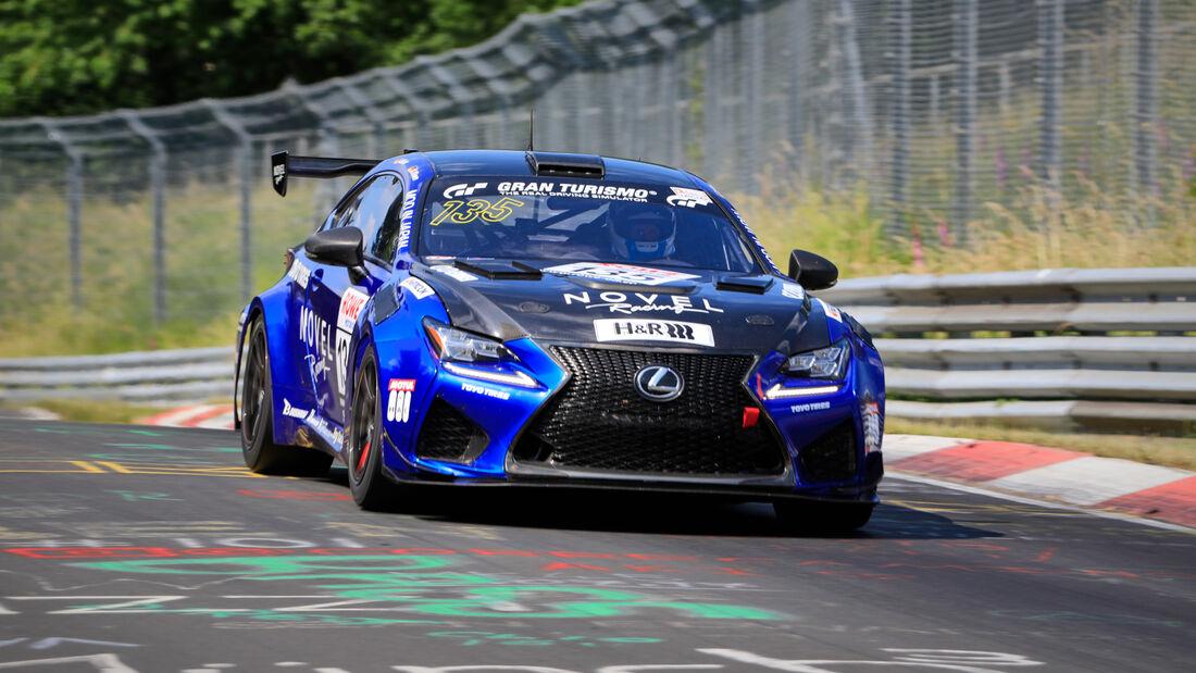 Lexus RC F - Startnummer #135 - Novel Racing with Toyo tire by Ring Racing - SP8 - NLS 2020 - Langstreckenmeisterschaft - Nürburgring - Nordschleife