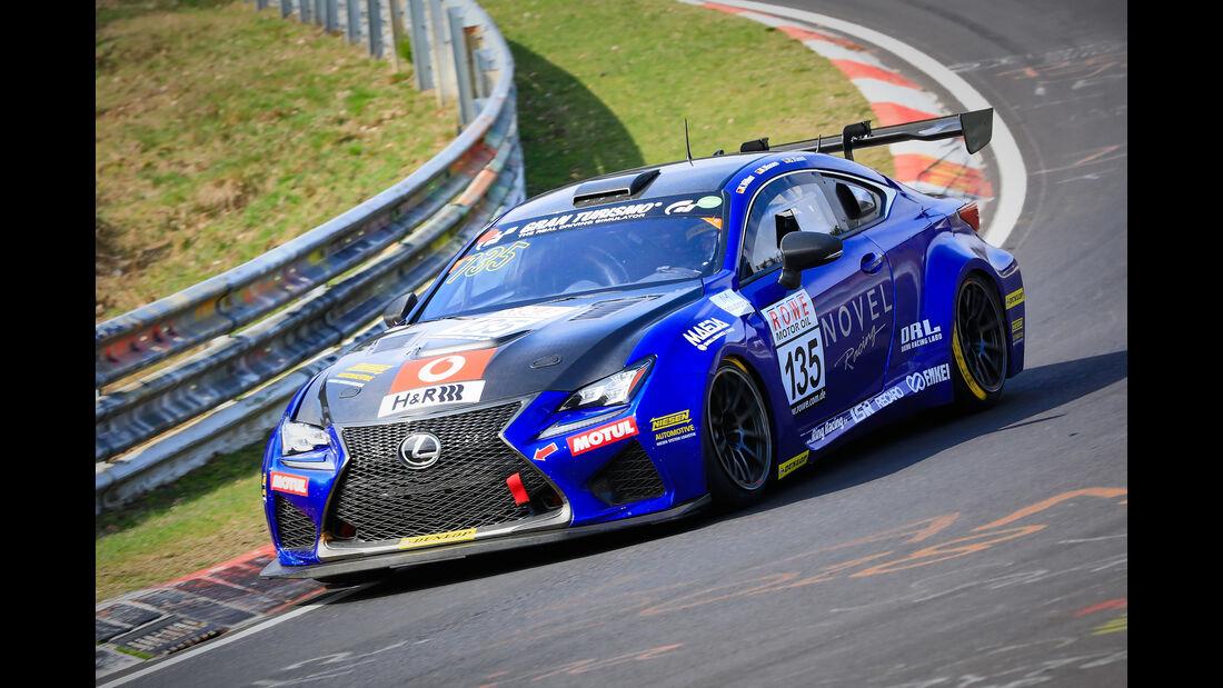 Lexus RC F - Startnummer #135 - SP8 - VLN 2019 - Langstreckenmeisterschaft - Nürburgring - Nordschleife