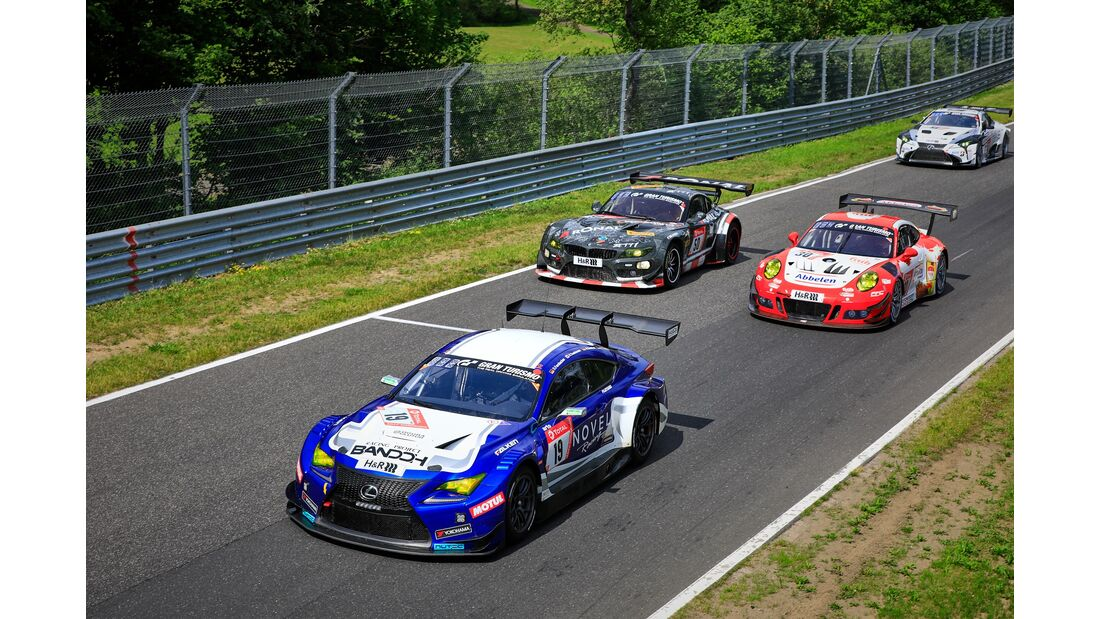 Lexus RC-F - Startnummer #19 - 24h Rennen Nürburgring - 22. Juni 2019