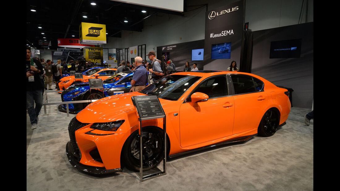Lexus RC-F von Gordon Ting / Beyond Marketing - SEMA 2015 - Las Vegas