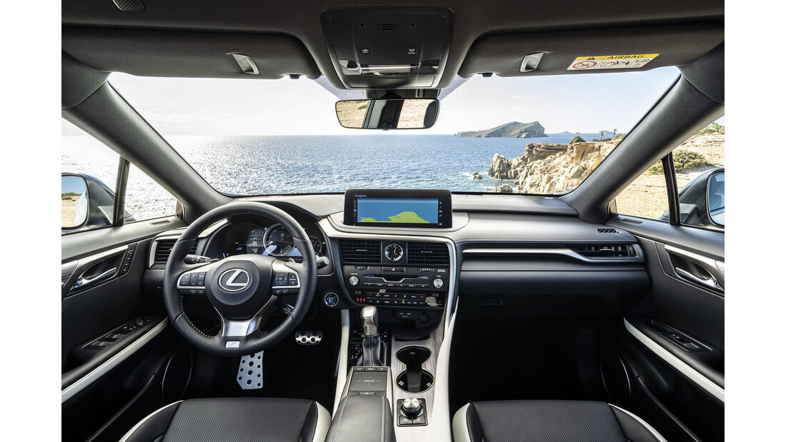 Lexus RX 450h Facelift 2020