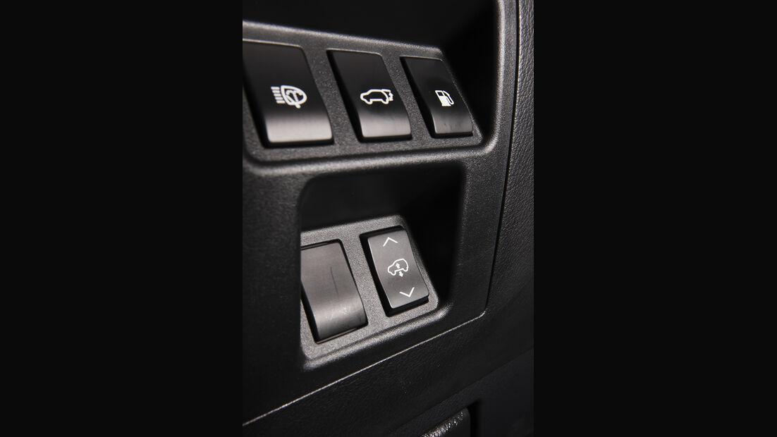 Lexus RX 450h, Höhenverstellung