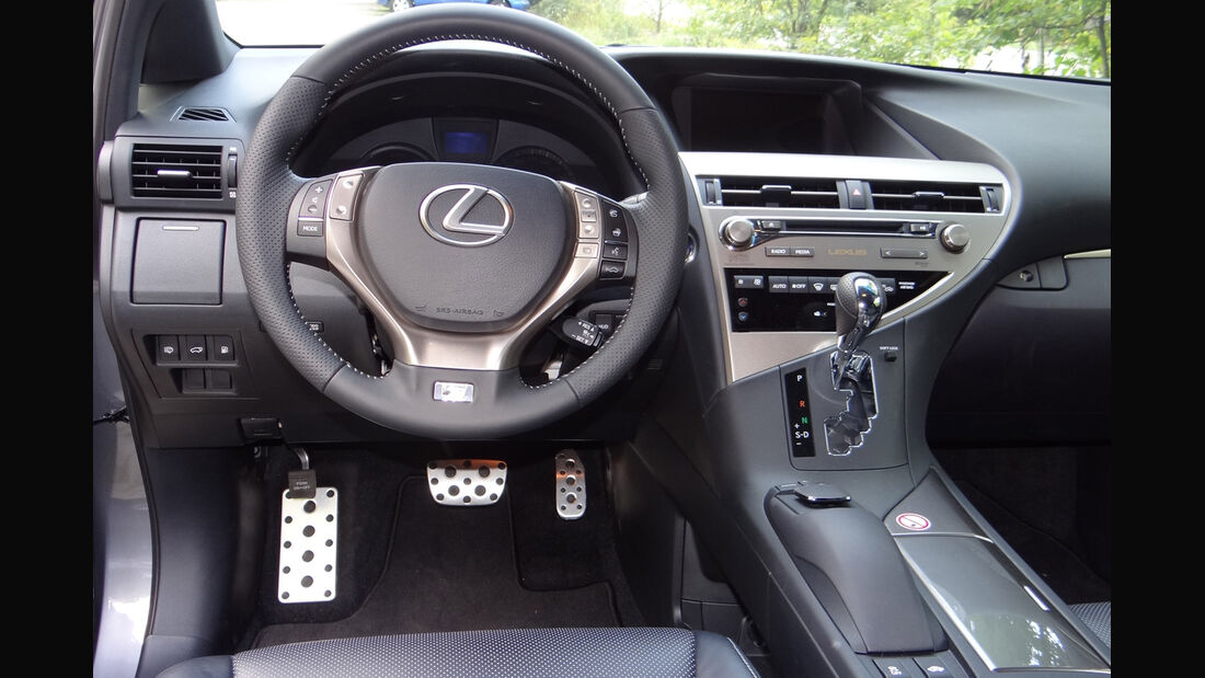 Lexus RX 450h, Innenraumcheck 2012, Cockpit