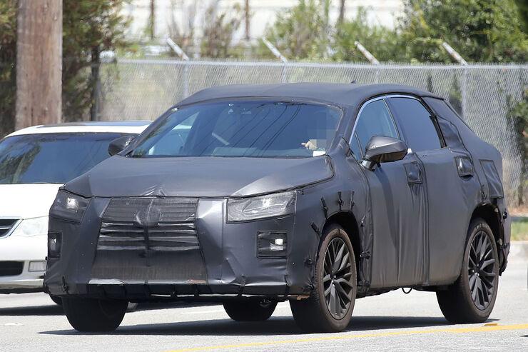 Lexus RX 7-Sitzer Erlkönig