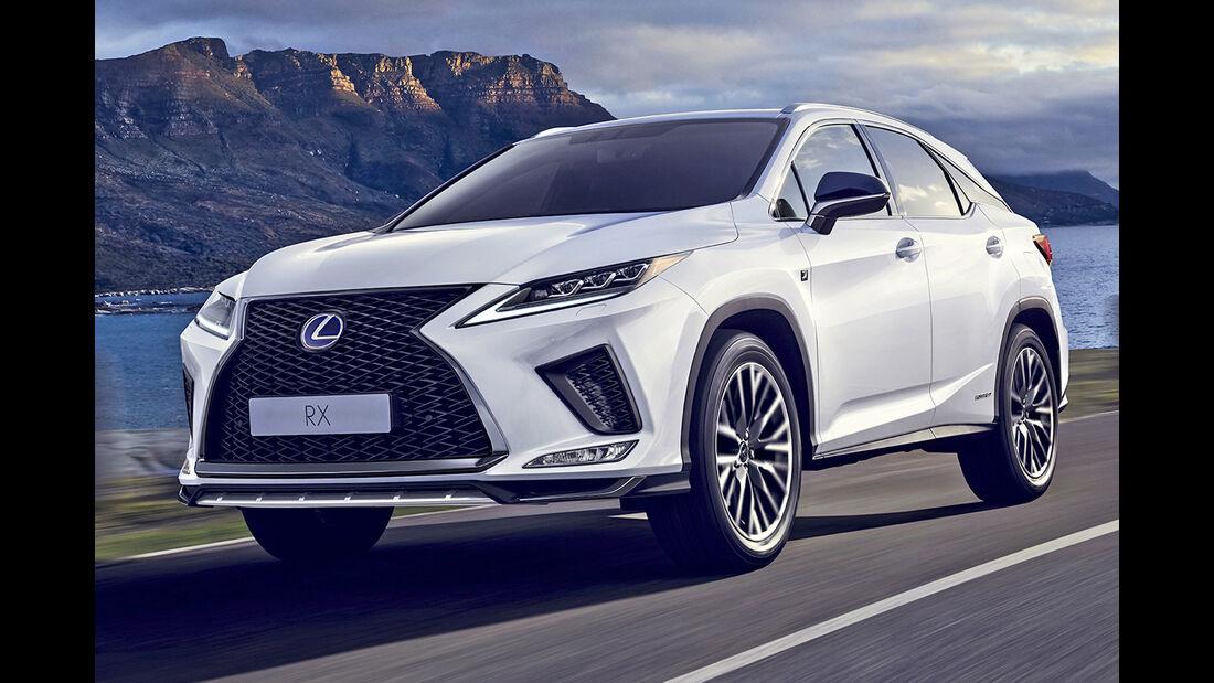 Lexus RX, Best Cars 2020, Kategorie K Große SUV/Geländewagen