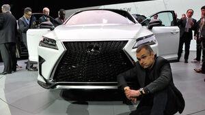 Lexus RX Sitzprobe
