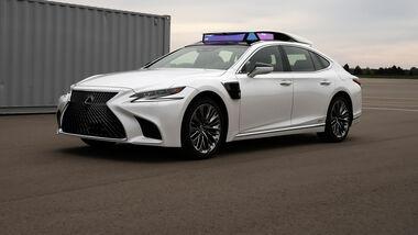 Lexus Testfahrzeug für autonomes Fahren