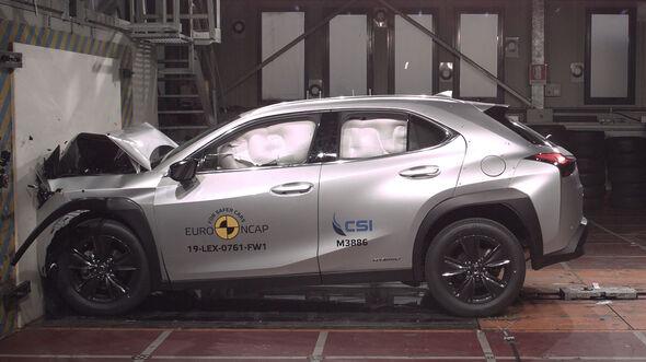 Lexus UX EuroNCAP-Crashtest