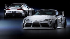 Liberty Walk Toyota Supra Tuning Bodykit