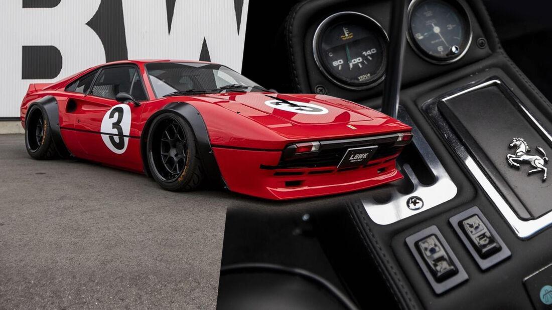 Liberty Walk Tuning Widebody Ferrari 308