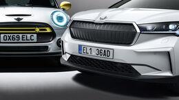 Lieferzeiten Elektroautos Aufmacher Enyaq Mini SE