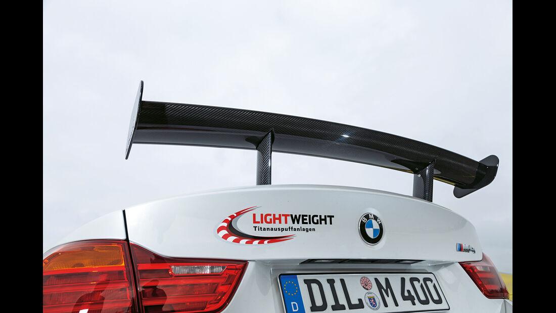 Lightweight BMW M4 Coupé, Heckspoiler