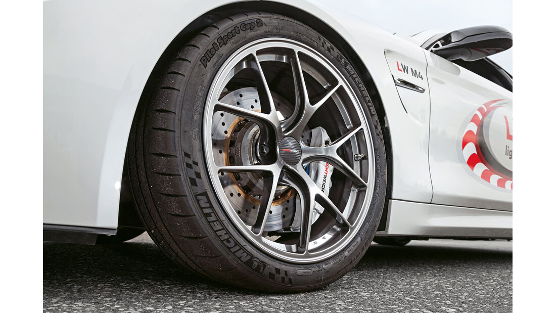 Lightweight BMW M4 Coupé, Rad, Felge