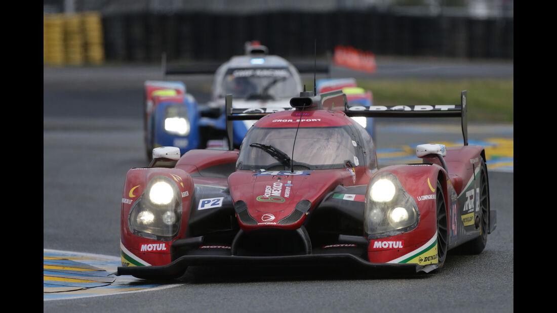 Ligier JS P2 Nissan - #43 - 24h Le Mans - Samstag - 18.06.2016