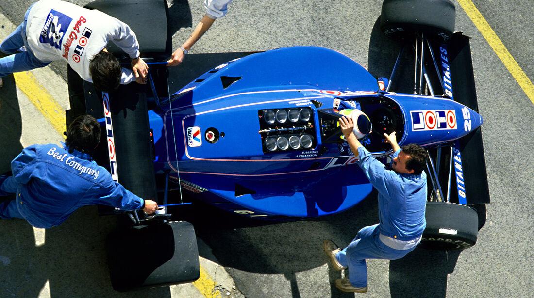 Ligier JS31 - Verrückte Formel 1-Ideen