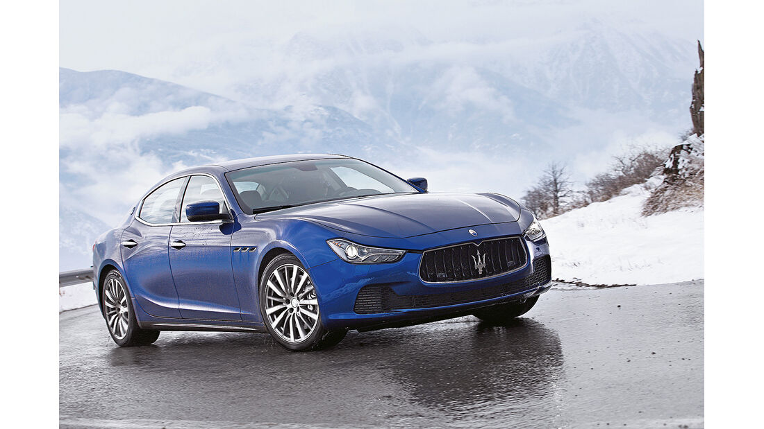 Limousine, Maserati Ghibli S Q4