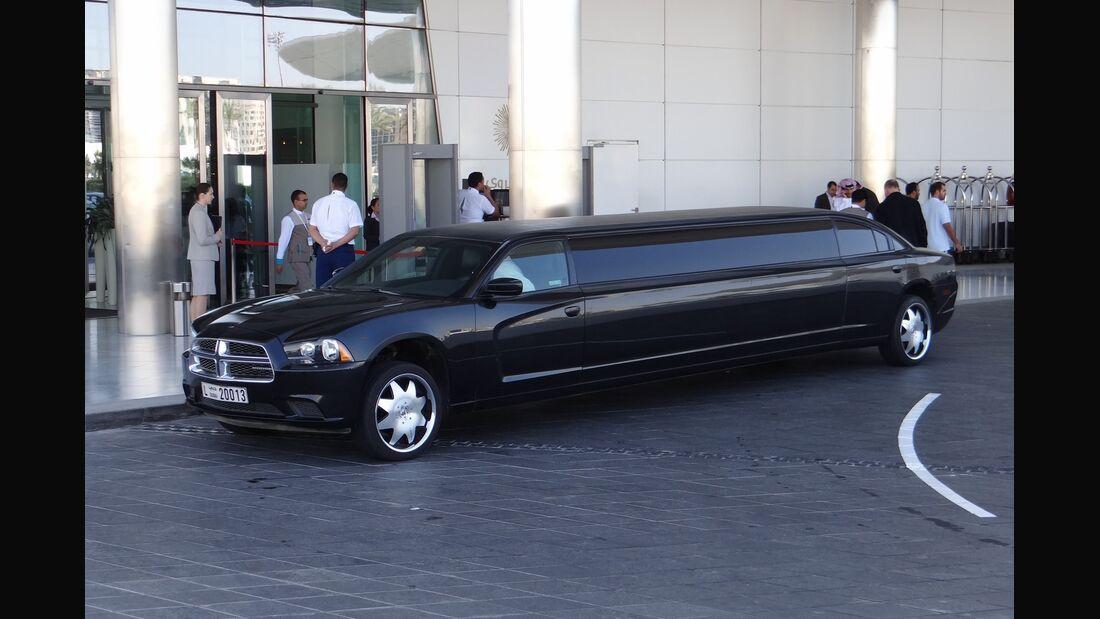 Limousine - Scheich Autos - GP Abu Dhabi 2012