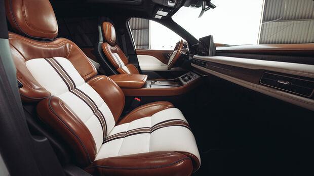 Lincoln Aviator Shinola Concept