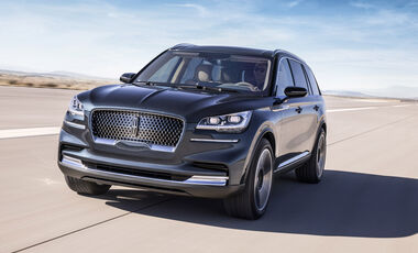 Lincoln Aviator Weltpremiere New York 2018