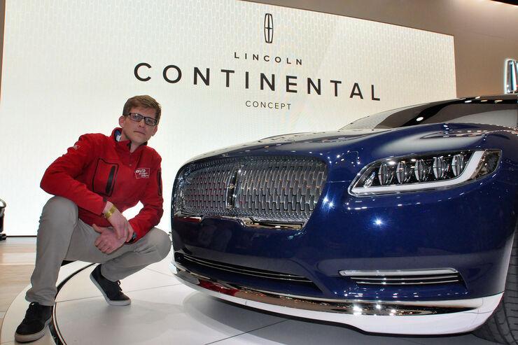 lincoln continental auf der new york auto show luxusliner. Black Bedroom Furniture Sets. Home Design Ideas