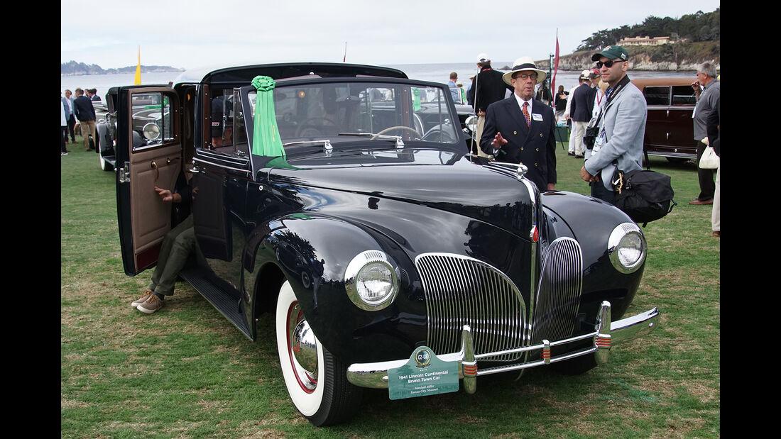 Lincoln Continental Brunn Town Car 1941