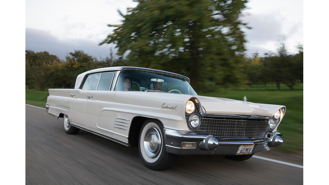 Lincoln Continental, Frontansicht