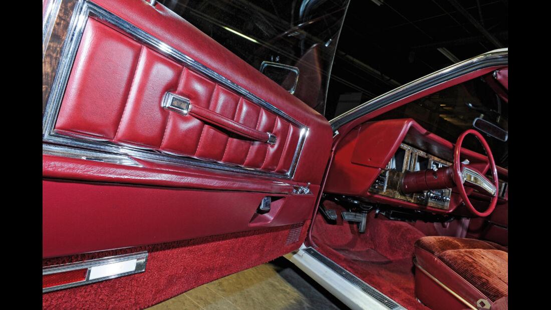 Lincoln Continental Mark V, 1977, Deteil