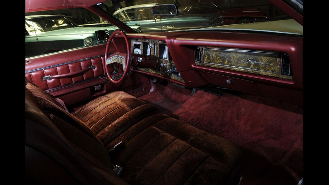 Lincoln Continental Mark V, Detail, Cockpit