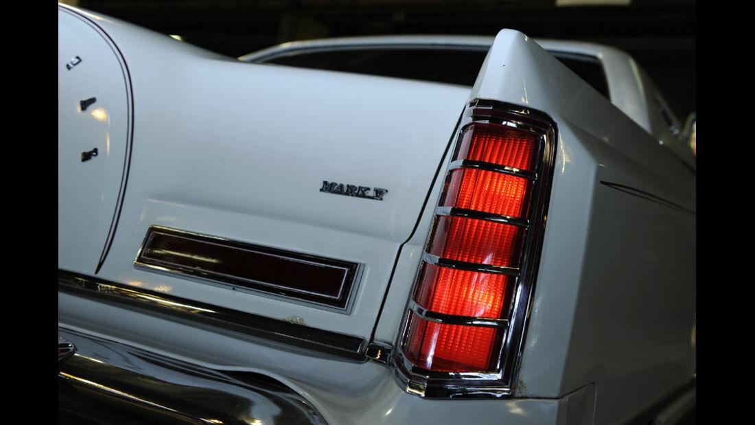 Lincoln Continental Mark V, Detail, Heck, Kofferraumklappe