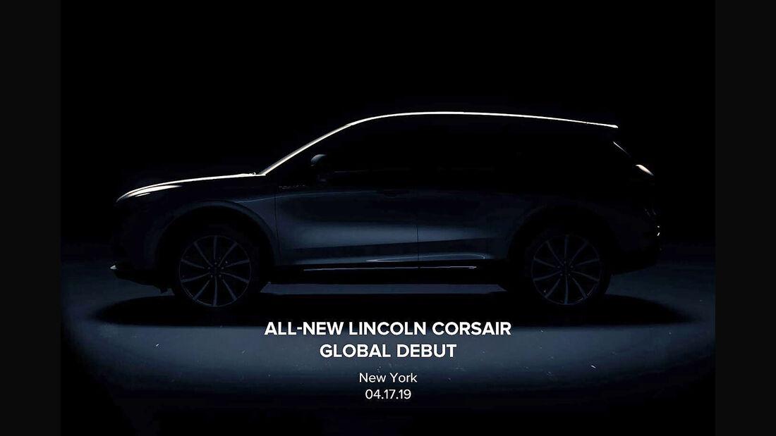 Lincoln Corsair Teaser