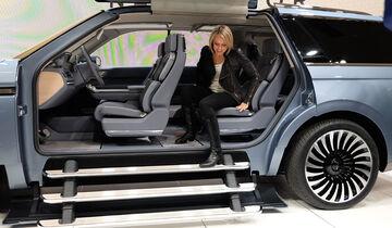 Lincoln Navigator Concept New York 2016