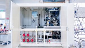 Linde Wasserstofftankstelle