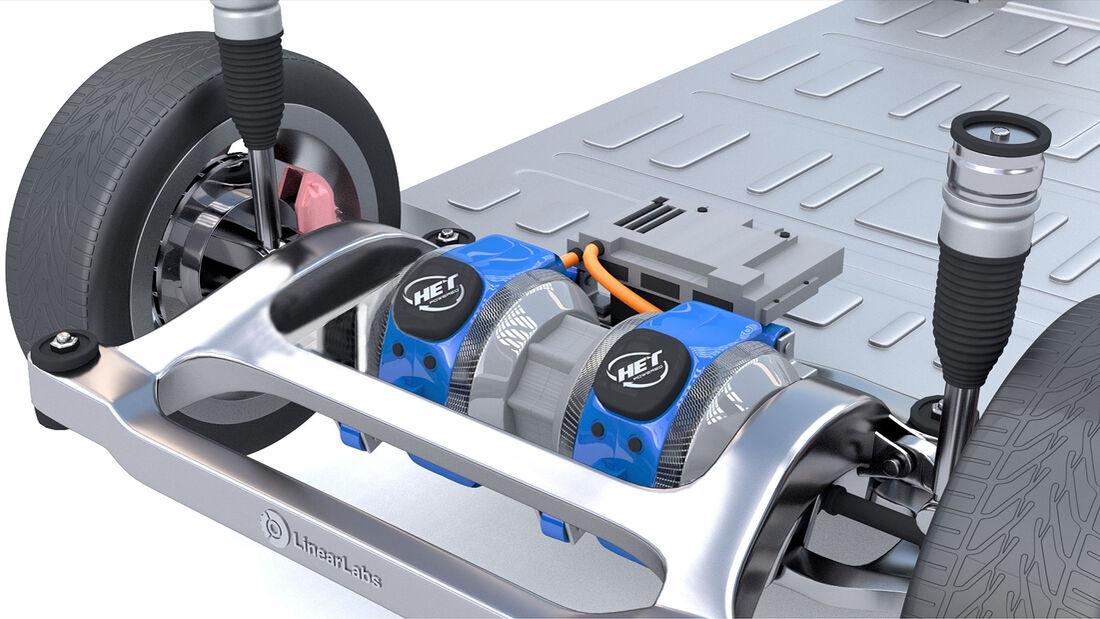 LinearLabs HET Motor Elektromotor Hunstable Electric Turbine